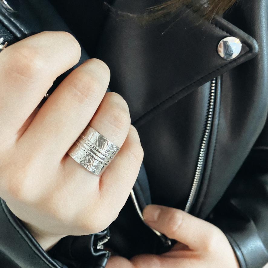Aloha Ring Silber