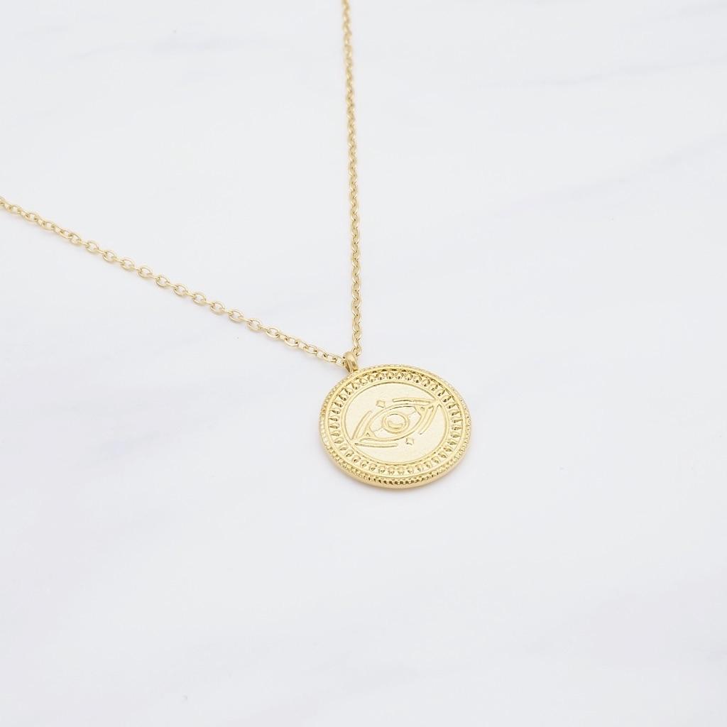 Moon Kette Gold