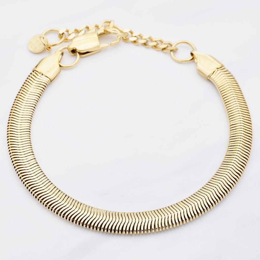Python Armband Gold