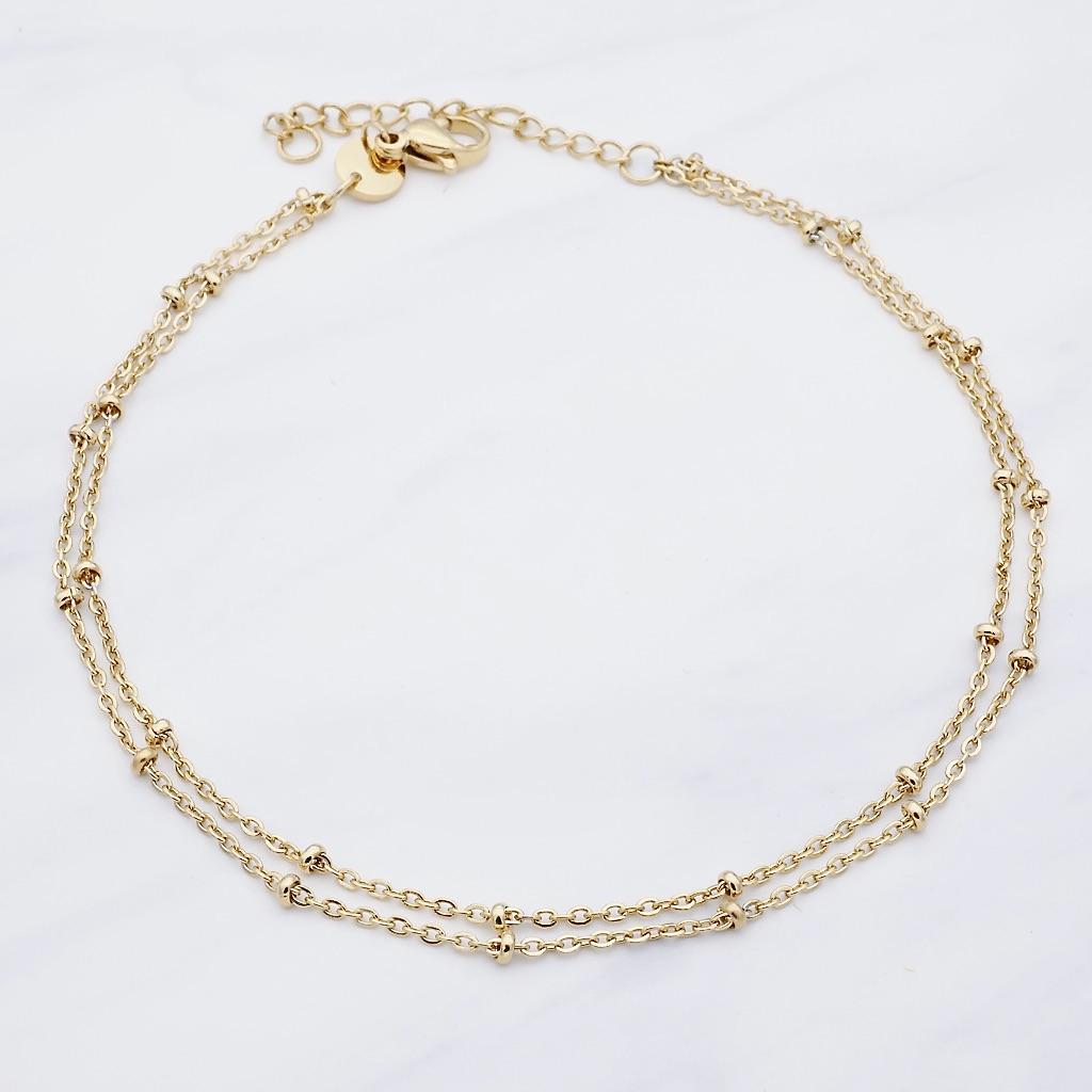 Leni Fußkette Gold