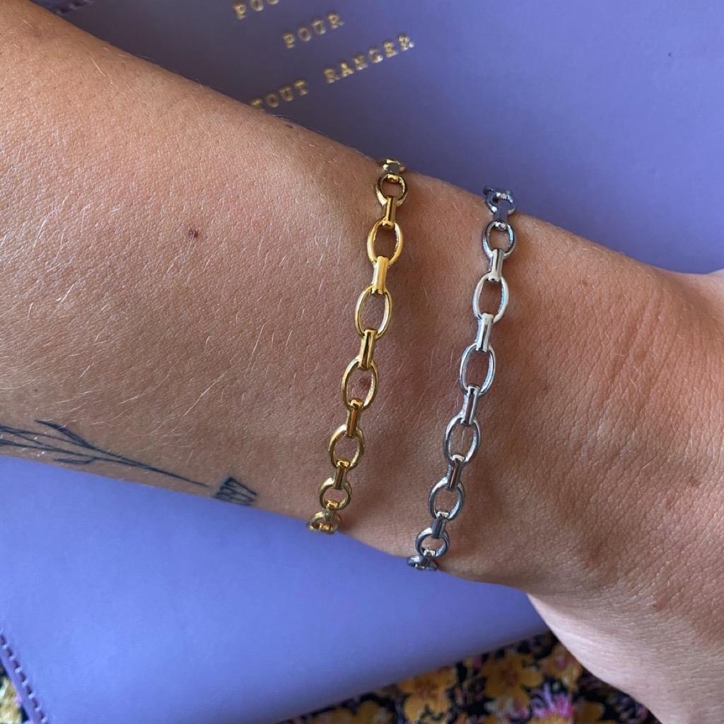 Chain Armreif Gold