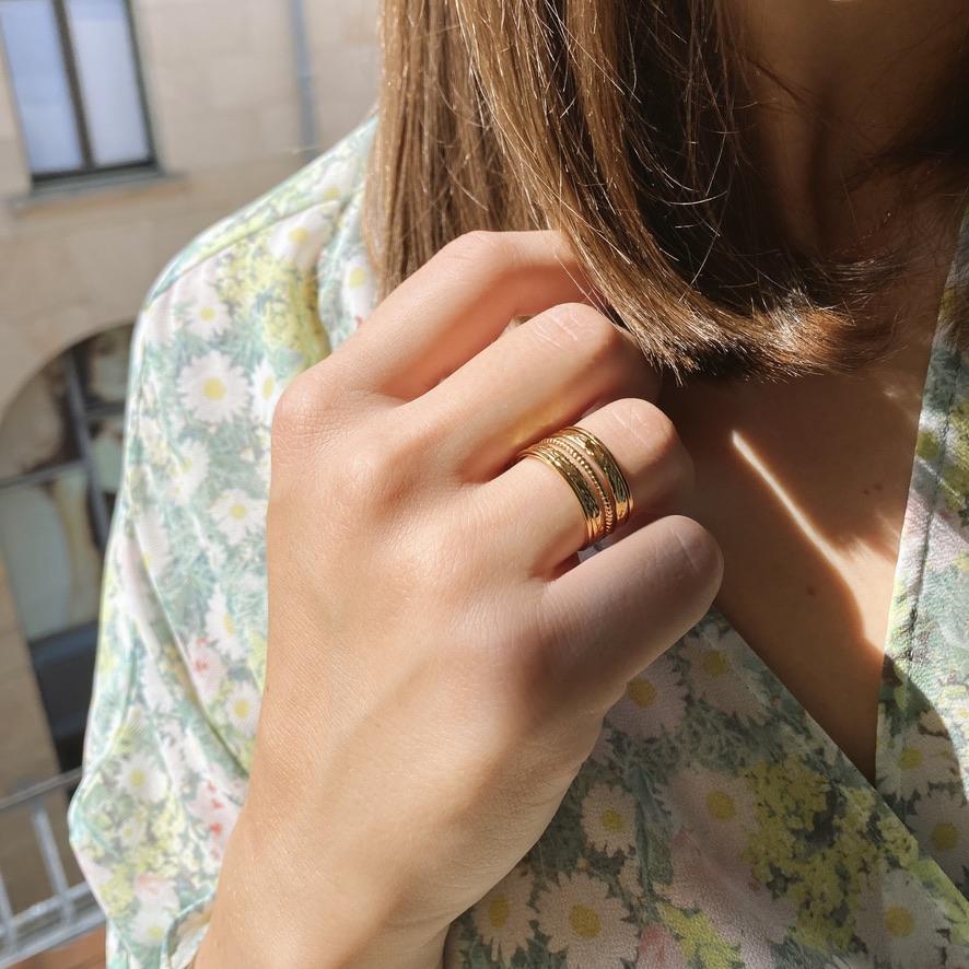 Leia Ring Gold