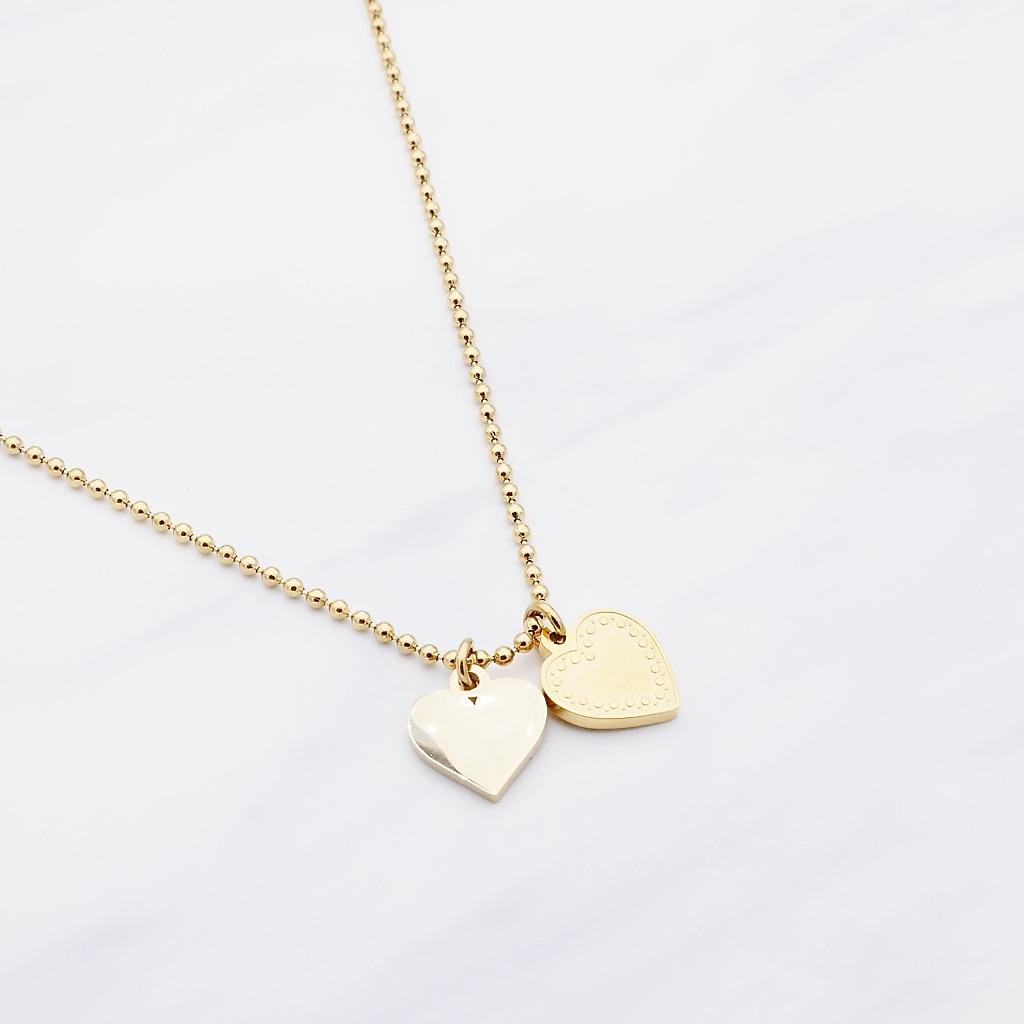 Herz Kette Gold