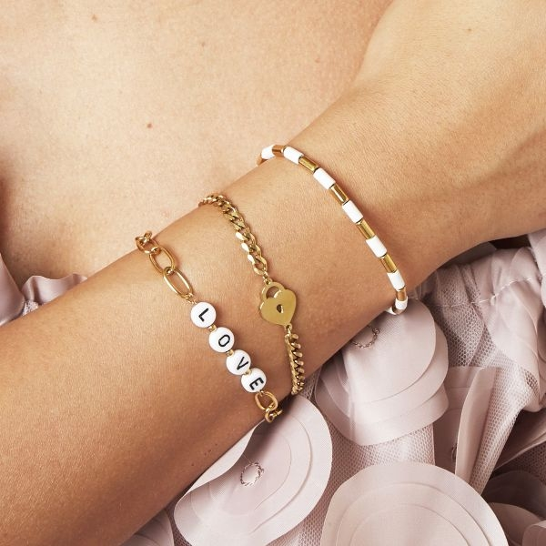 Heart Armband Silber