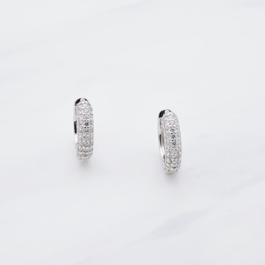 Genua Ohrring Silber