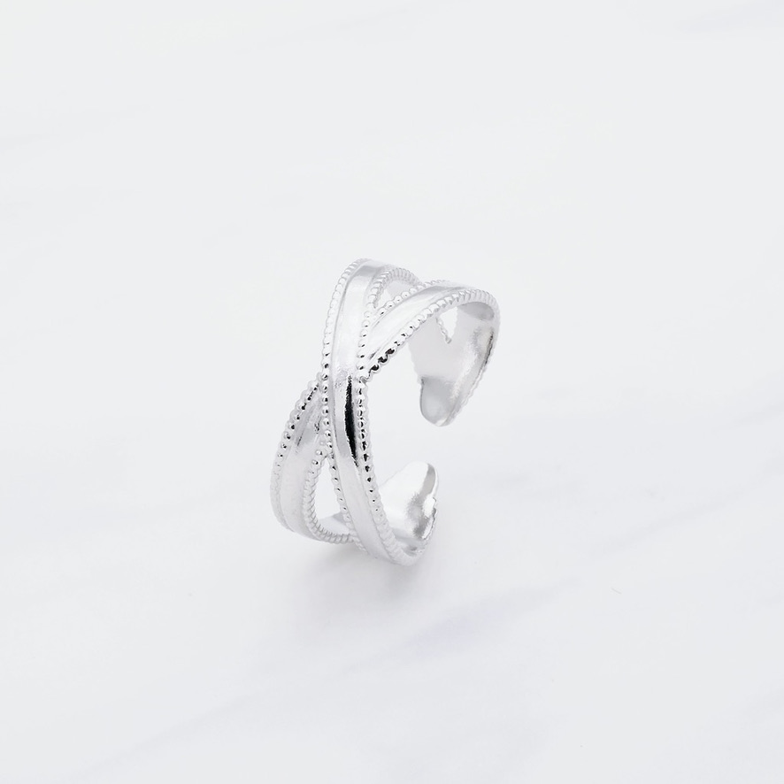 Anica Ring Silber