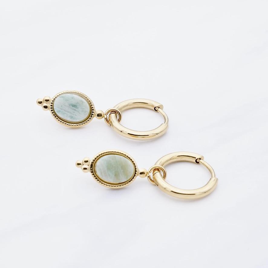 Leslie green Ohrring Gold