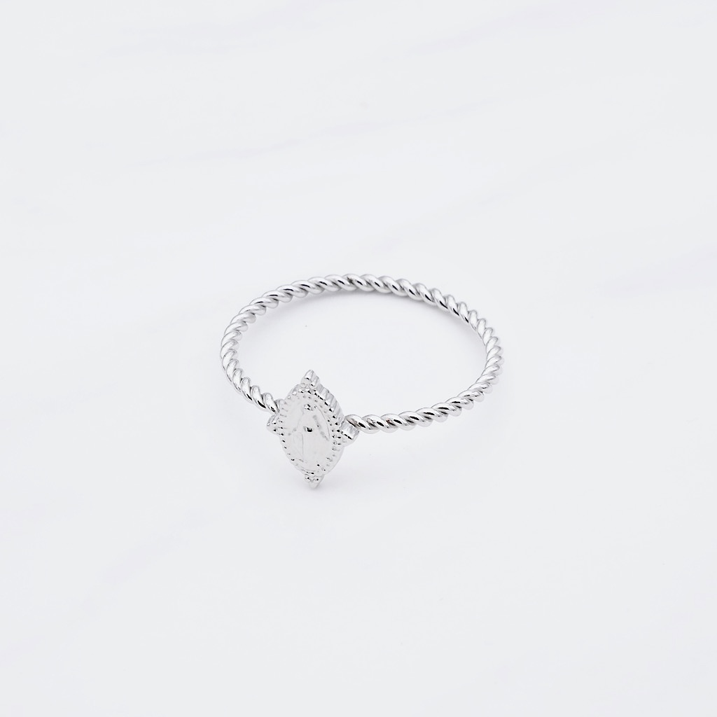 Madonna Ring Silber