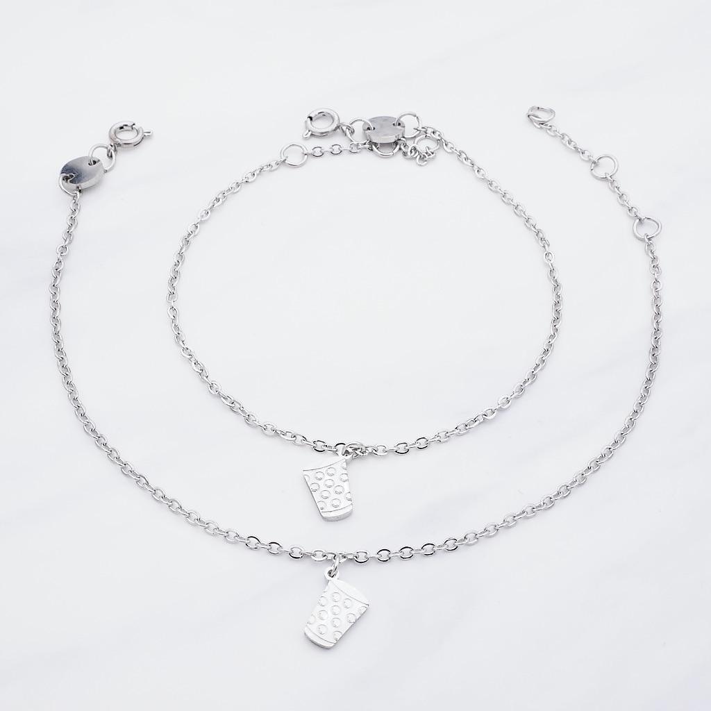 Pälzer Mädsche 2x Armband Silber