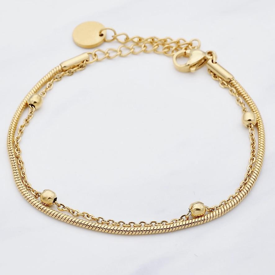Tiana Armband Gold