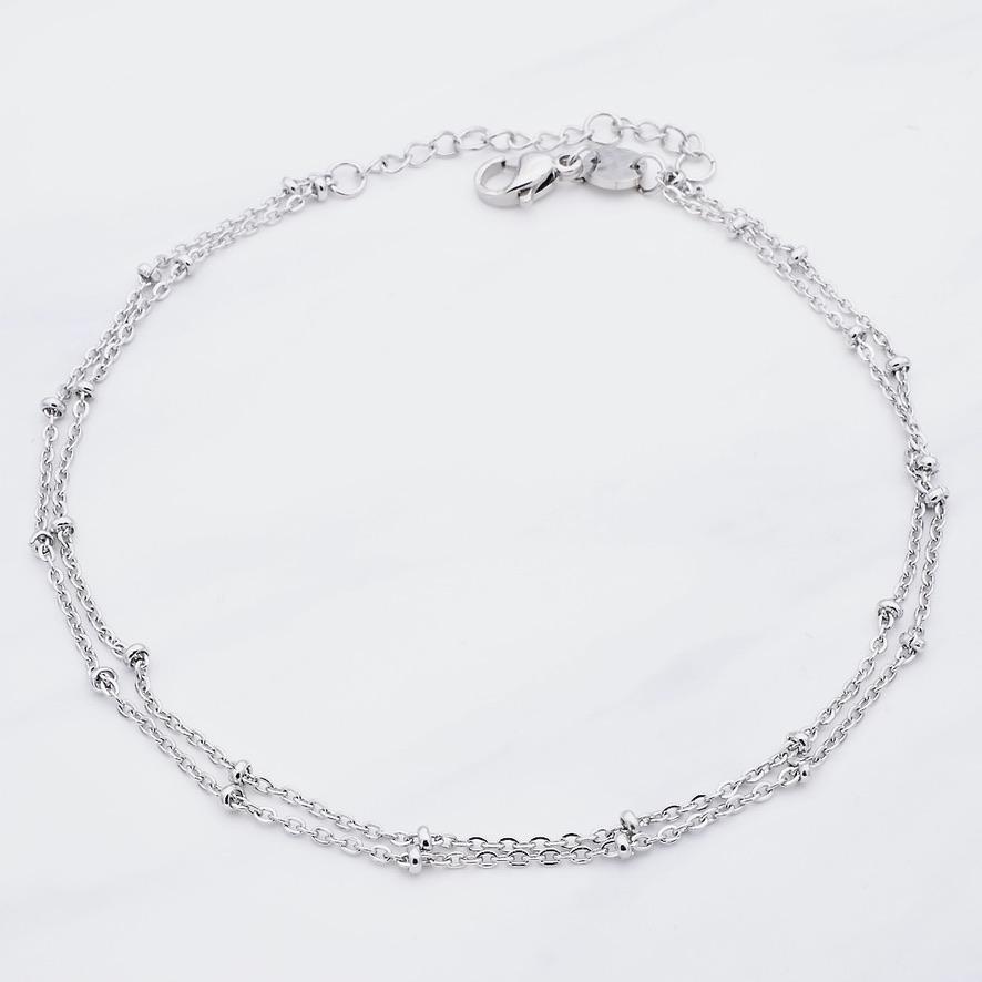 Leni Fußkette Silber