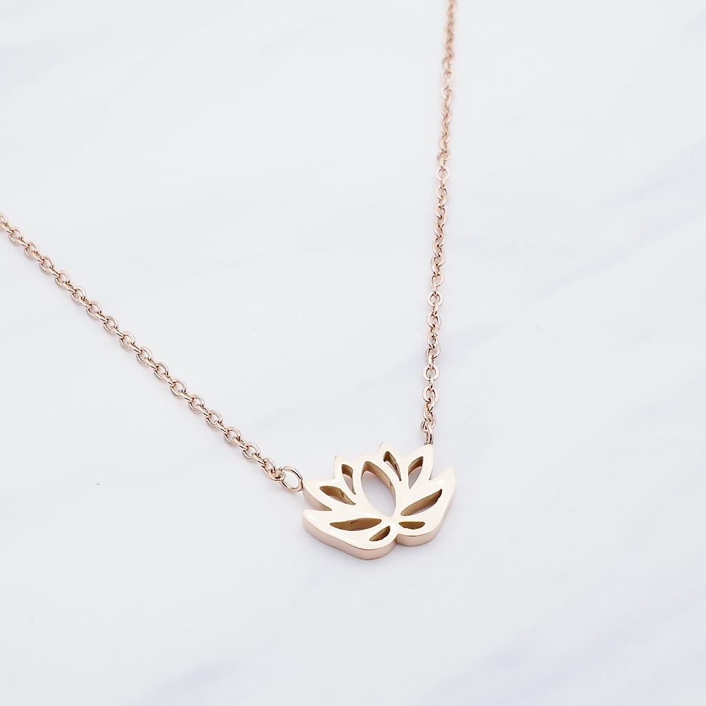 Lotus Kette Rosé