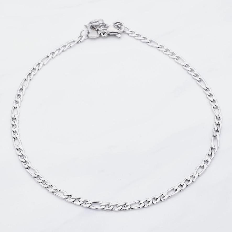 Cassia Fußkette Silber