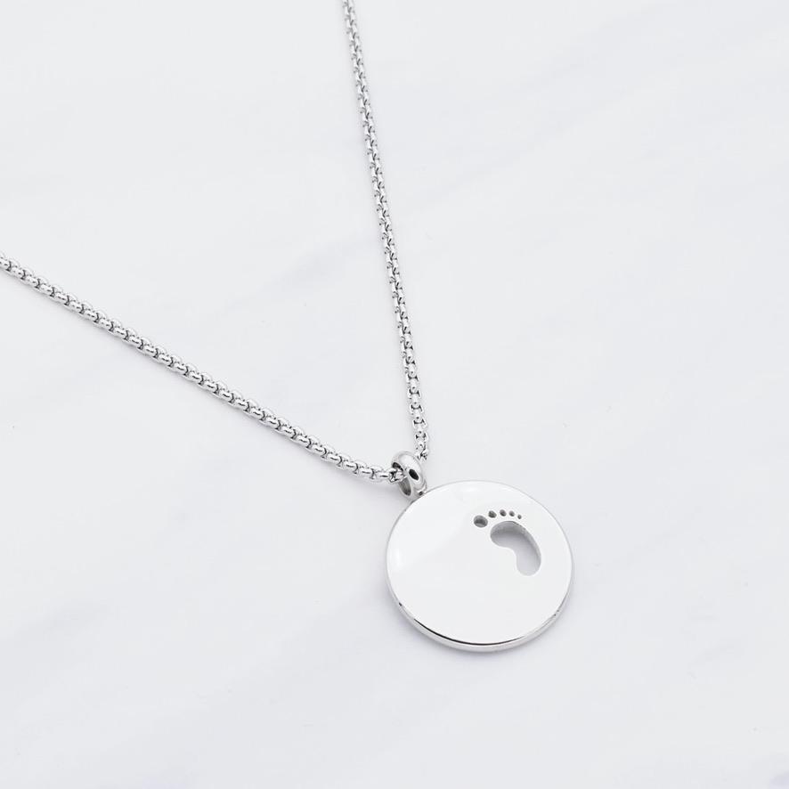 """""""Baby Glück"""" Halskette Silber"""