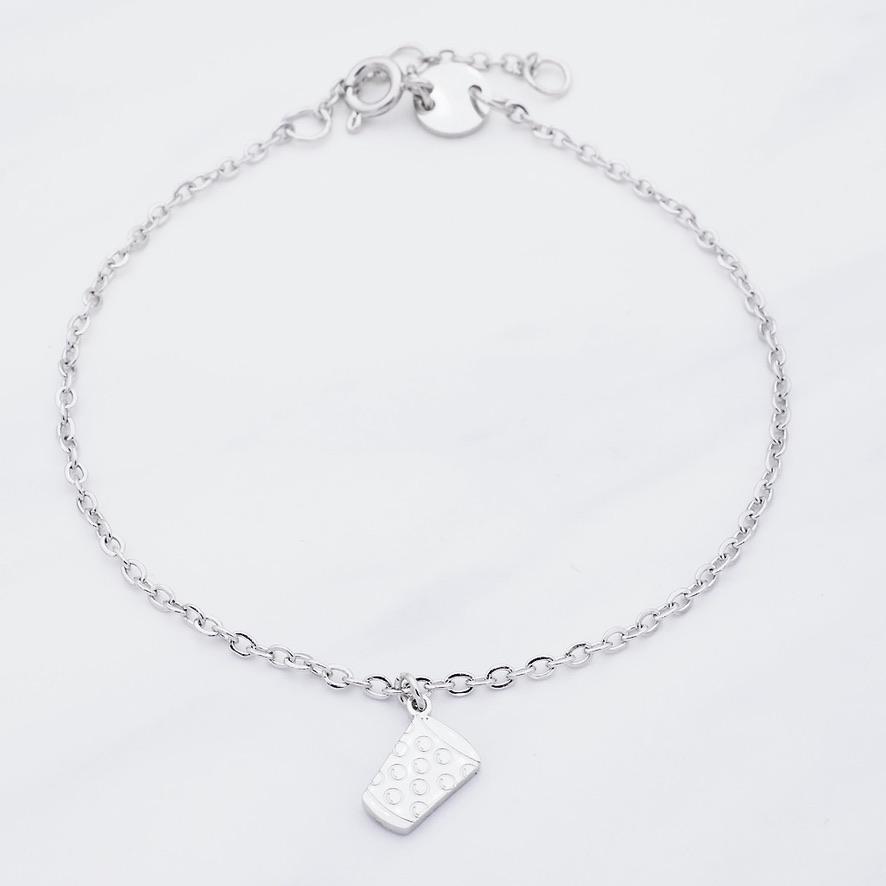Pälzer Mädsche  Armband Silber