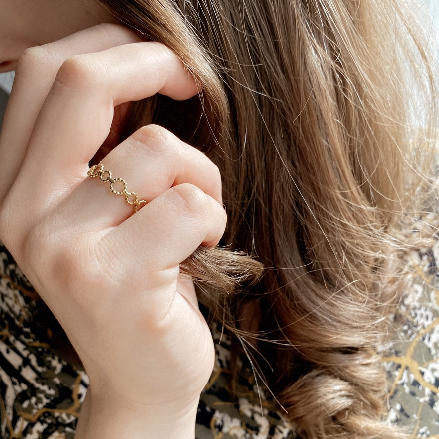 Lucia Ring Gold
