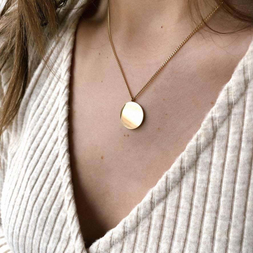 Simplicity Kette Gold