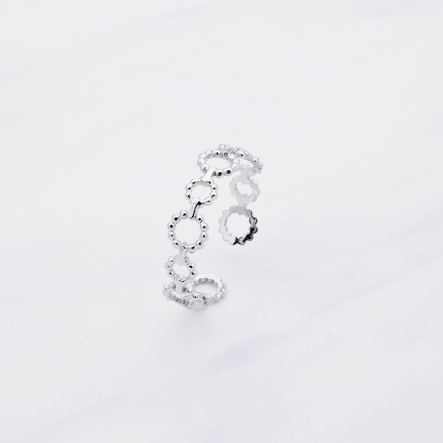 Lucia Ring Silber