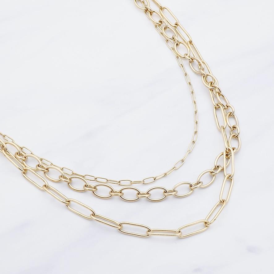 Haylee Halskette Gold