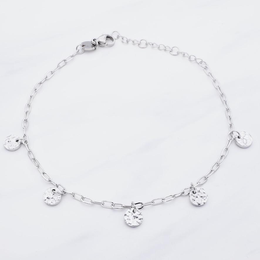 Cata Fußkette Silber