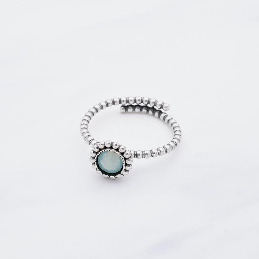 Maira Ring Silber