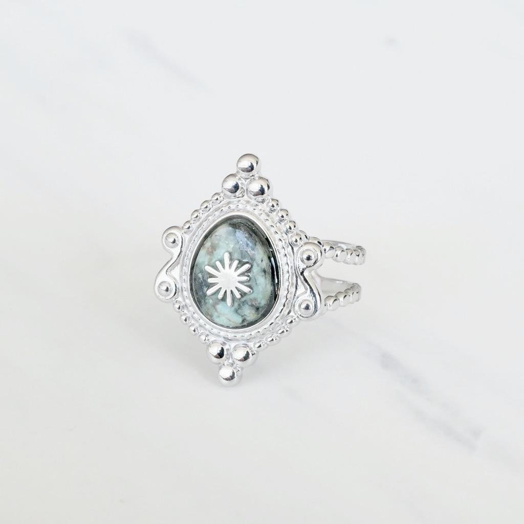 Singapur Ring Silber