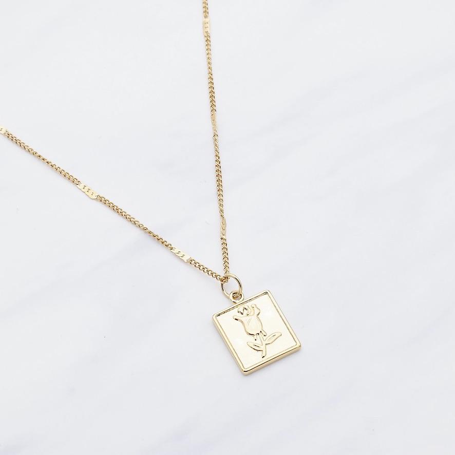 Rosen Kette Gold
