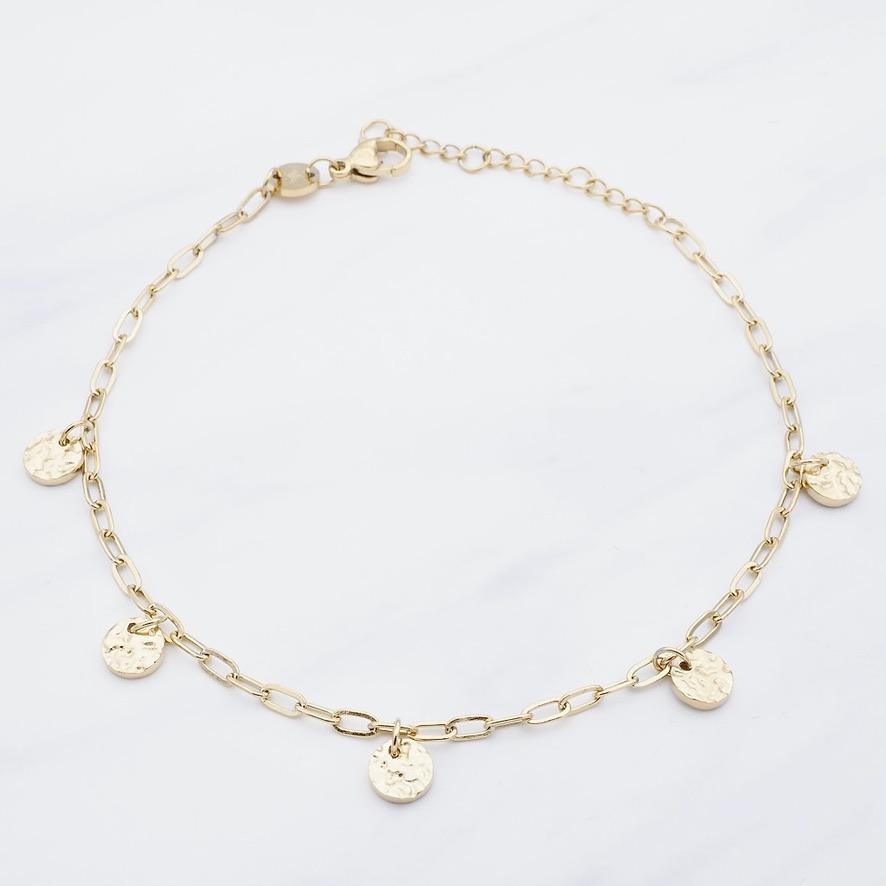 Cata Fußkette Gold