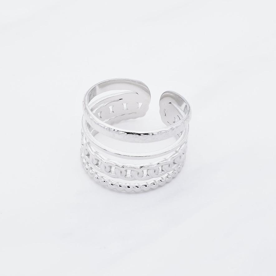 Ariah Ring Silber