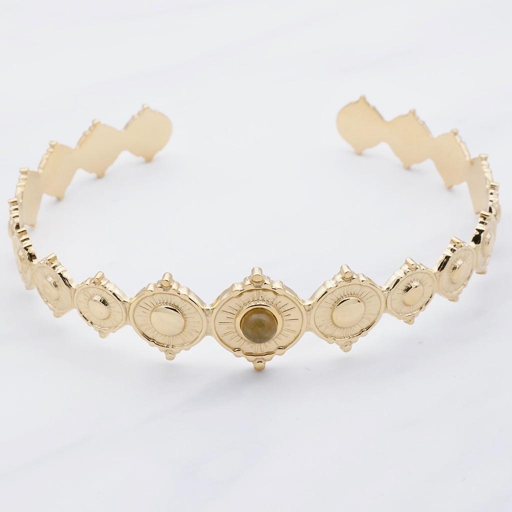 Sophia  Armreif Gold