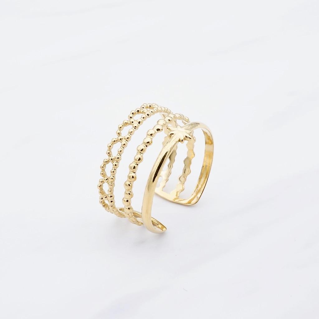 Maori Ring Gold