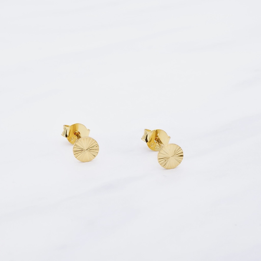 Italy Ohrstecker Gold