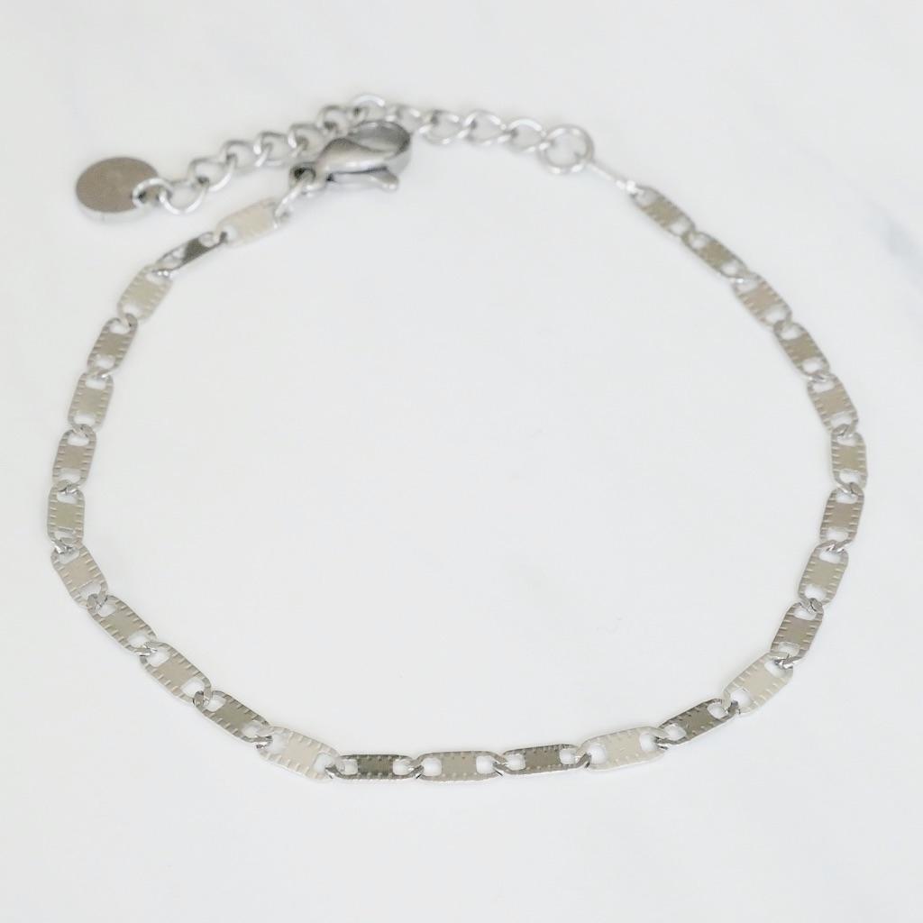 Anker Armband Silber