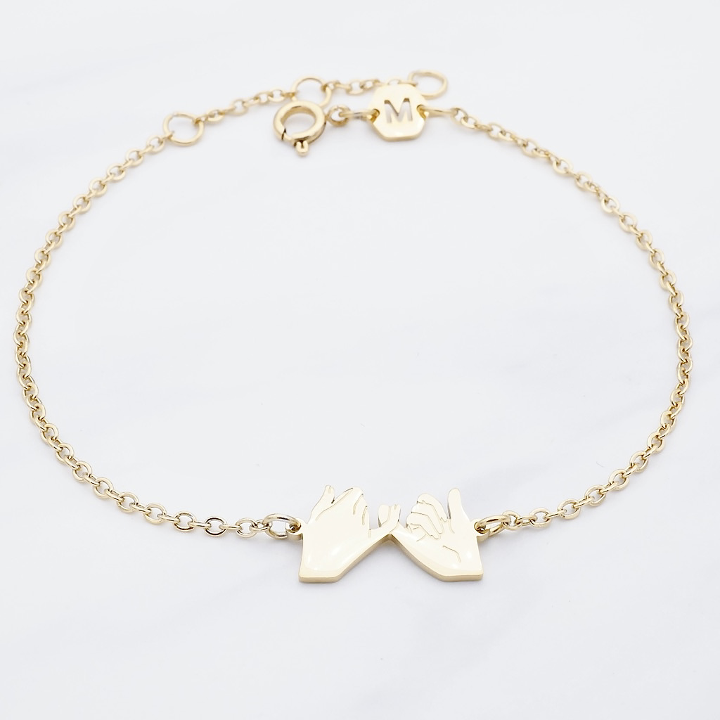 Friends Armband Gold