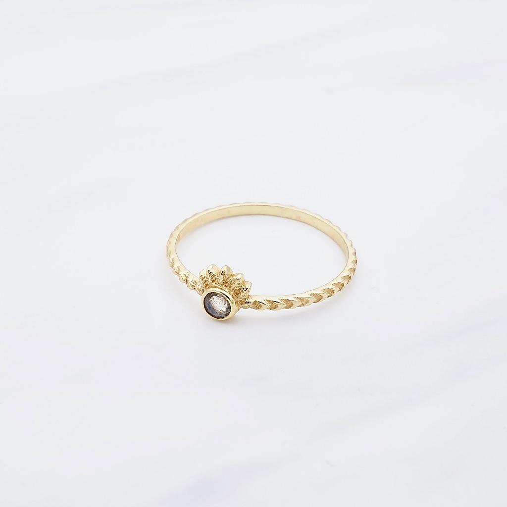 Maya Ring Gold