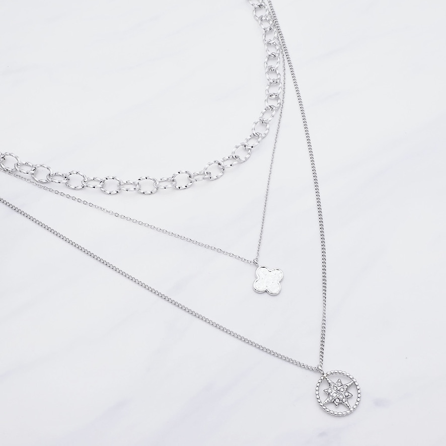 Alayah Layer Kette Silber