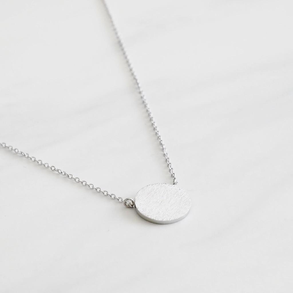Round Kette Silber