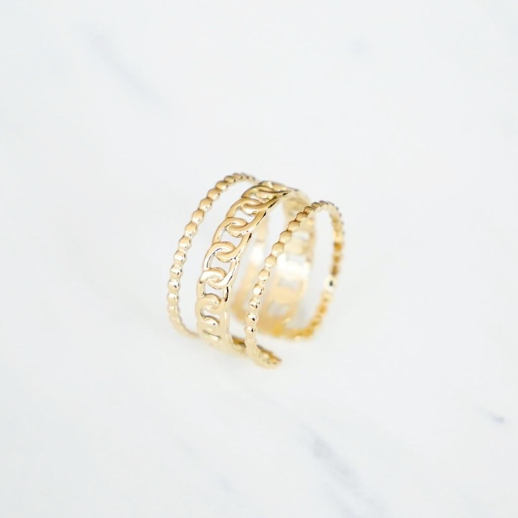 Trible Ring