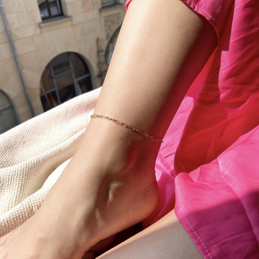 Kyla Fußkette Gold