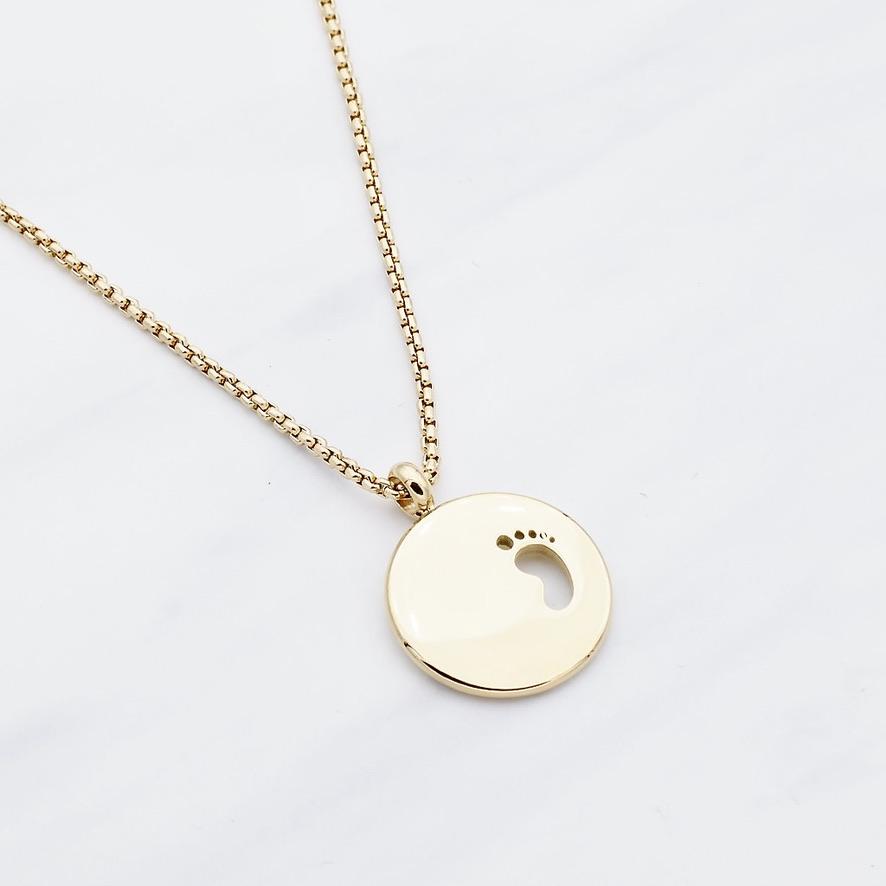 """""""Baby Glück"""" Halskette Gold"""