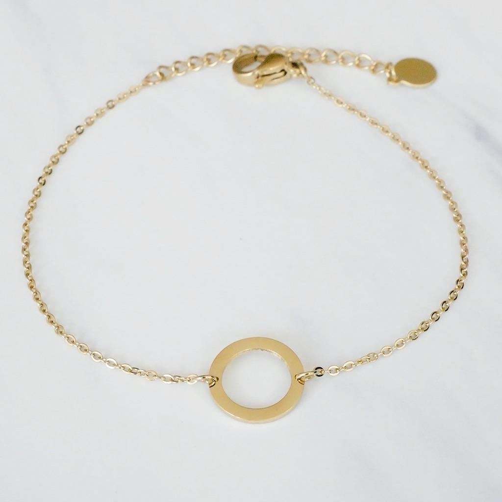Round Armband Gold
