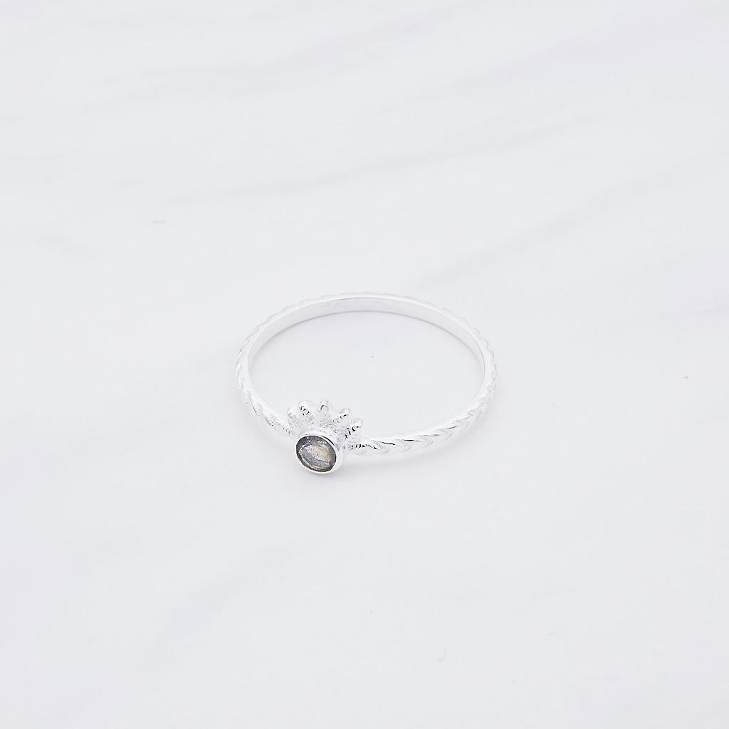 Maya Ring Silber