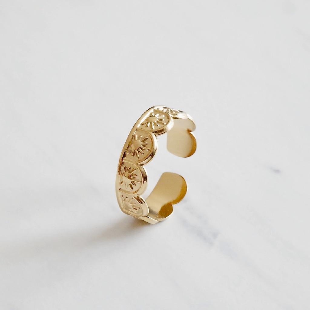 Sun Ring Gold
