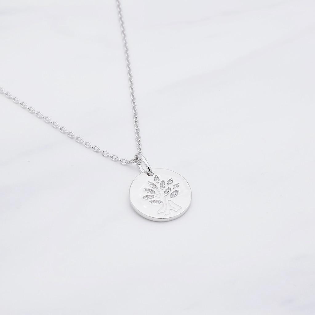 Lebensbaum Kette Silber