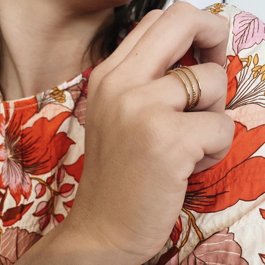 Ashly Ring Silber