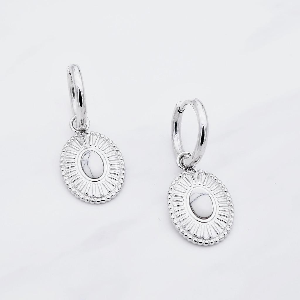 Luna Ohrring Silber
