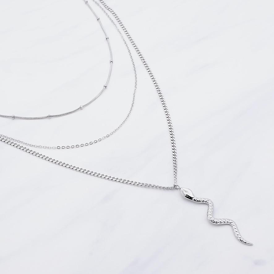Amiyah Layer Kette Silber