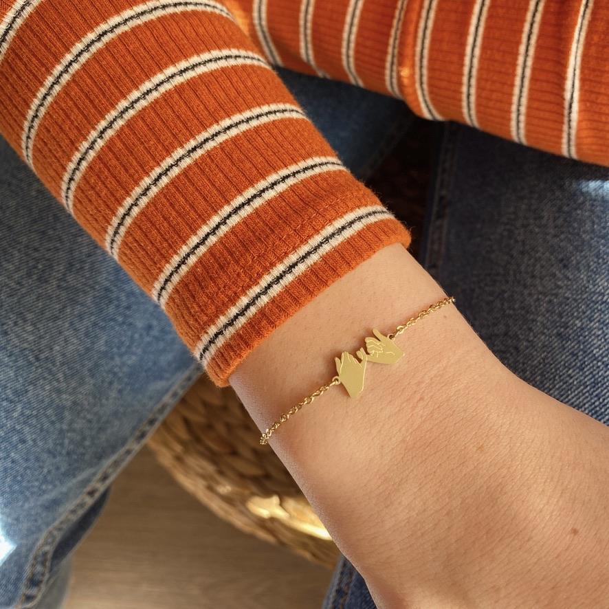 Friends Armband Rosé