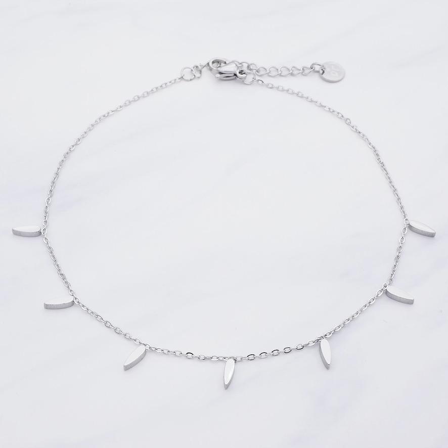Alexa Fußkette Silber