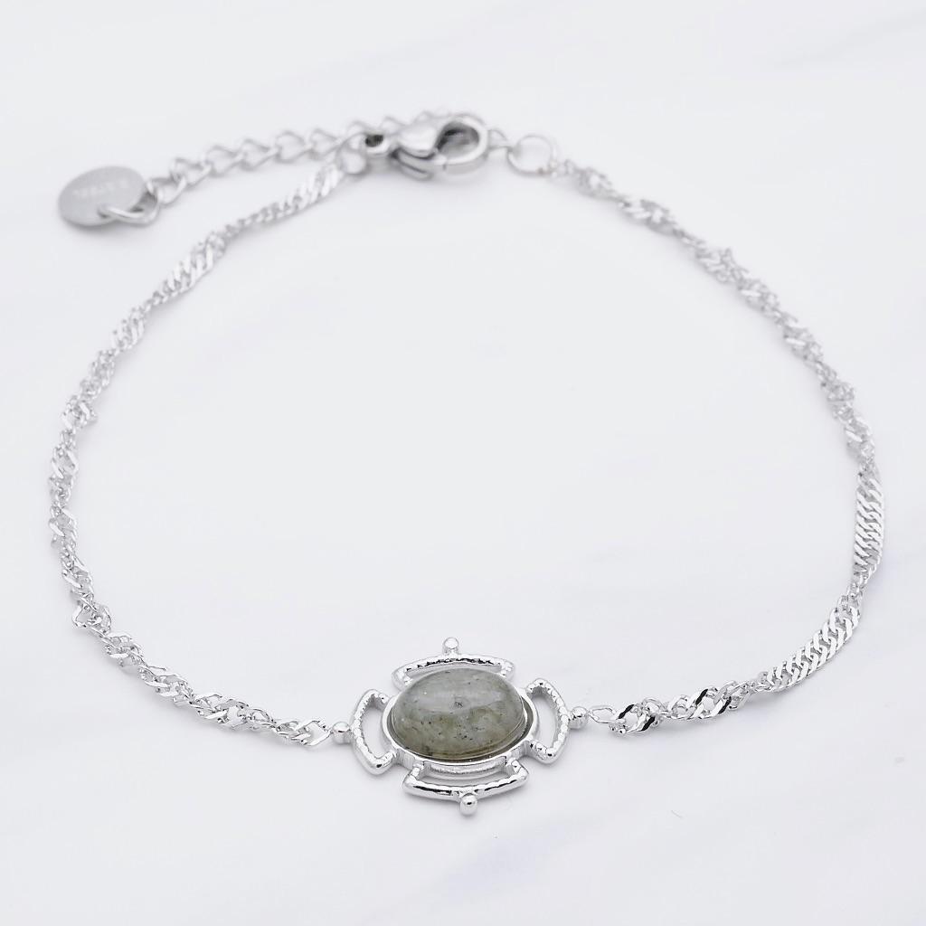 Karma Armband Silber